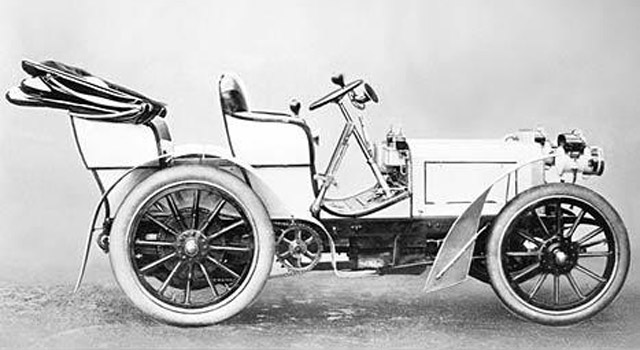 First Mercedes-Benz, the 35 hp