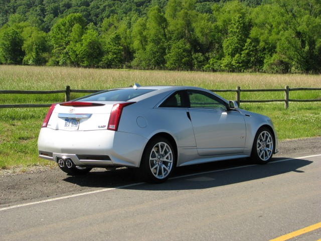 2011 Cadillac CTS-V Wagon Black Diamond Edition #9134459
