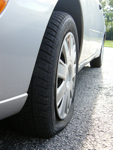 Don't Be Caught Unprepared If You Have A Flat Tire