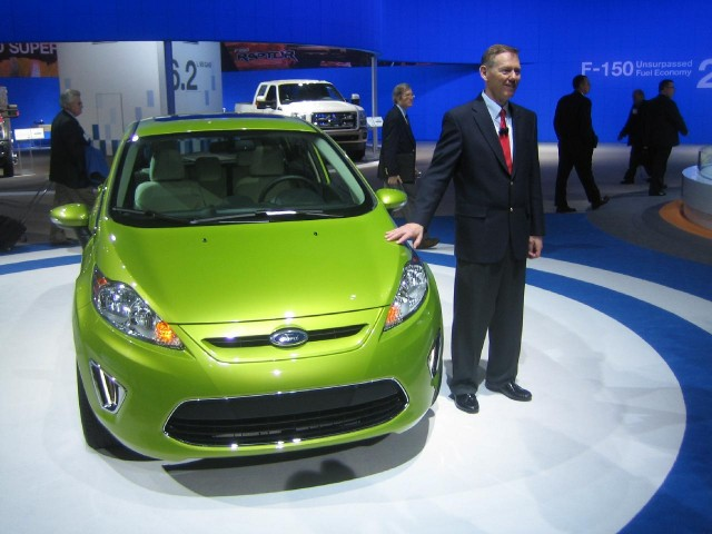 Ford CEO Alan Mulally at 2010 Washington DC Auto Show #9087225