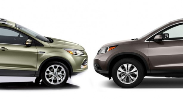 Ford escape vs honda cr v compare cars for Ford edge vs honda crv
