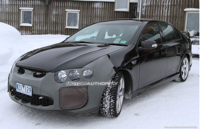 Spy Shots: Supercharged And Intercooled Aussie Ford Falcon FPV 'GT-H