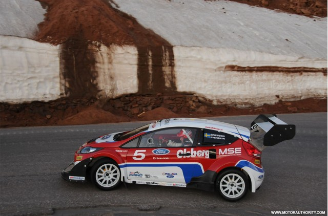 Car Pictures Ford Fiesta 800 Hp Rally Car At Pikes Peak Photo | Short