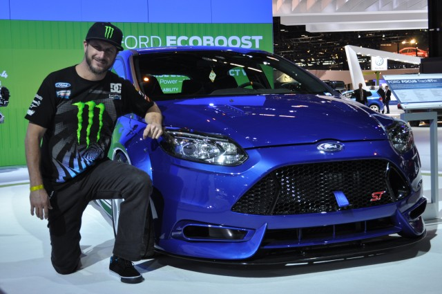 Ken Block Influenced Ford Focus Trackster Set For Chicago