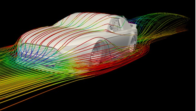 Ford Fusion in CFD - Photo courtesy Ford Racing #7066657