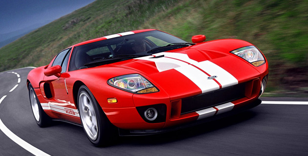 The two cars up for auction were the sixth and seventh Ford GTs built