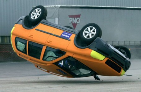 Ford makes stability control standard on all cars by 2009