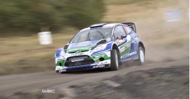 Ford WRC prepares for the 2012 Wales Rally Great Britain