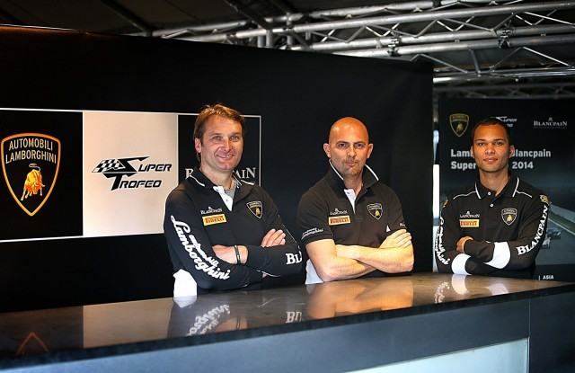 From left to right: Fabio Babini, Giorgio Sanna and Adrian Zaugg