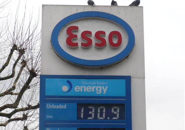 Fuel price in London, shown in pence per liter, February 2011