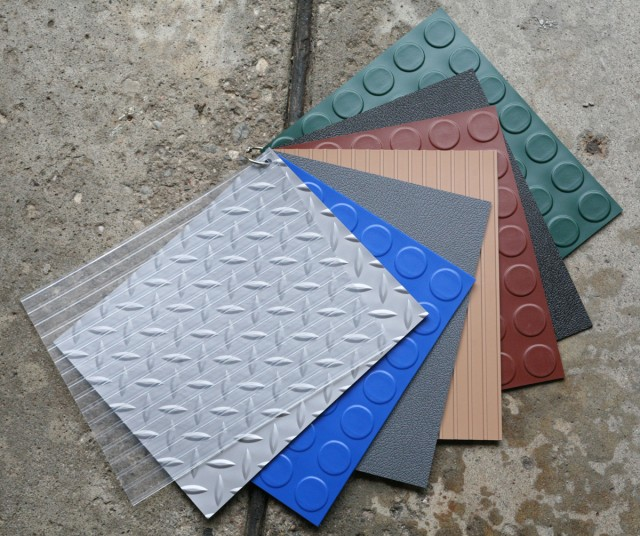 Give dad a new garage floor for fathers day for Give the floor