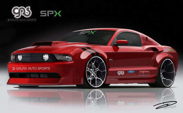 700 hp galpin wide body mustang to be auctioned for charity for How to buy a car from charity motors