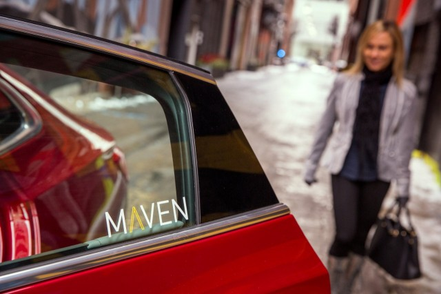 General Motors launches Maven, a car-sharing service