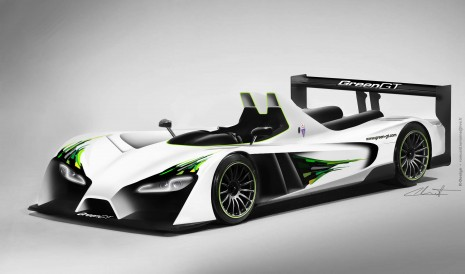 Norris Acura on Greengt Lmph2 Electric Racer To Run 2012 Le Mans  Video