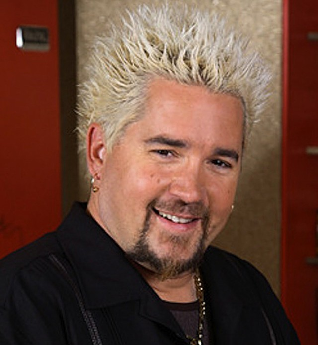 guy fieri height