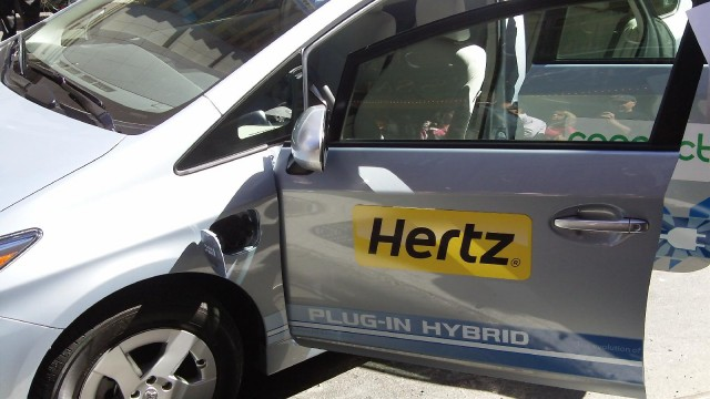 Hertz electric-car rental press event, New York City, September 2010 #7579017