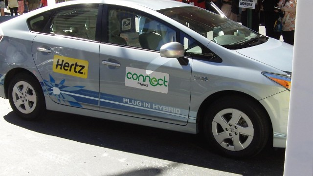 Hertz electric-car rental press event, New York City, September 2010 #8312587