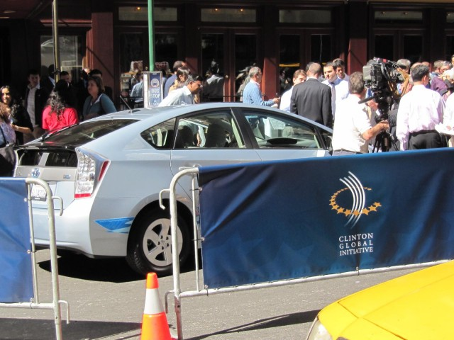 Hertz electric-car rental press event, New York City, September 2010 #7678149