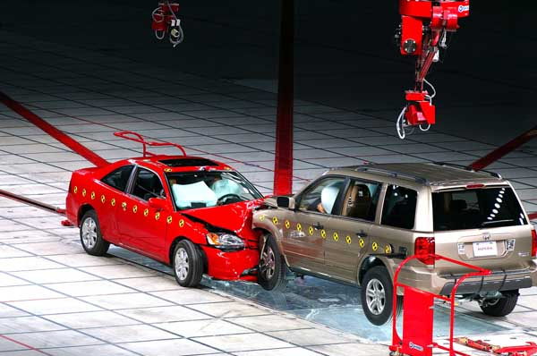 Honda Crash Test