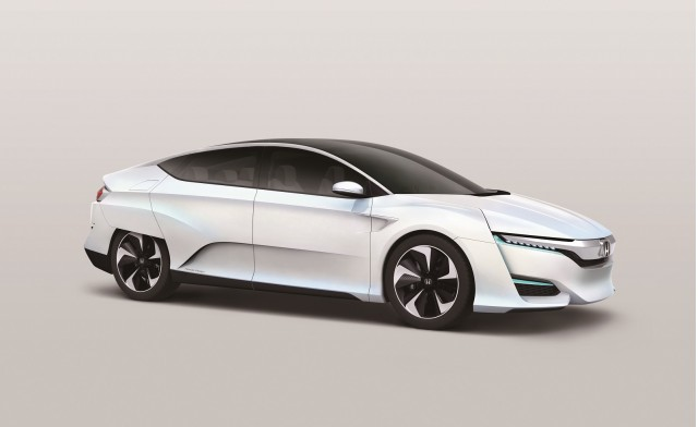 Honda Fcv Concept Debuts Design Evolution For 2016 Fuel
