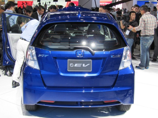 Honda Fit EV Rear