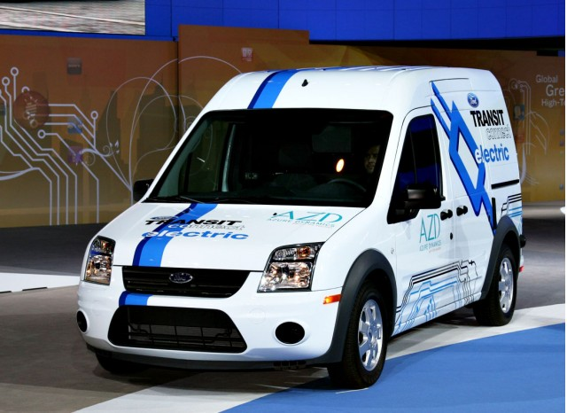 Azure Dynamics Bankrupt Built Ford Transit Connect Electric