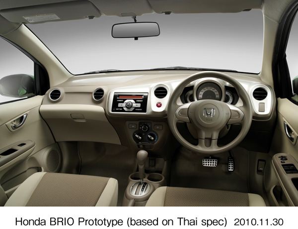Honda Brio prototype, introduced at the 2010 Thailand Motor Expo