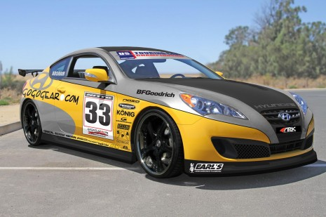 Hyundai Genesis Gogogear Racing Coupe for SEMA