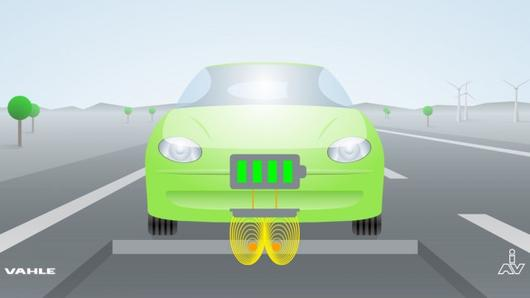 Inductive Charging Cars Inductive Road Charging of