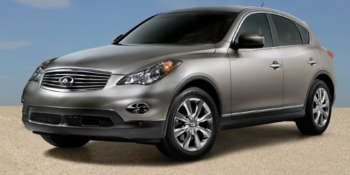 Infiniti shows new EX Crossover