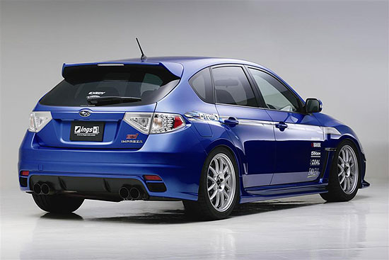 subaru impreza wrx sti fitted with ings n spec bodykit. Black Bedroom Furniture Sets. Home Design Ideas
