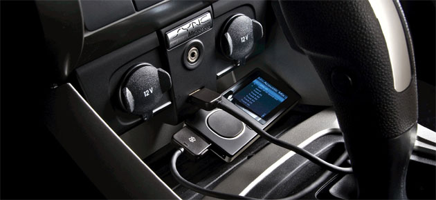 Ford's Sync implementation of Microsoft's automotive platform provides several modes of connectivity