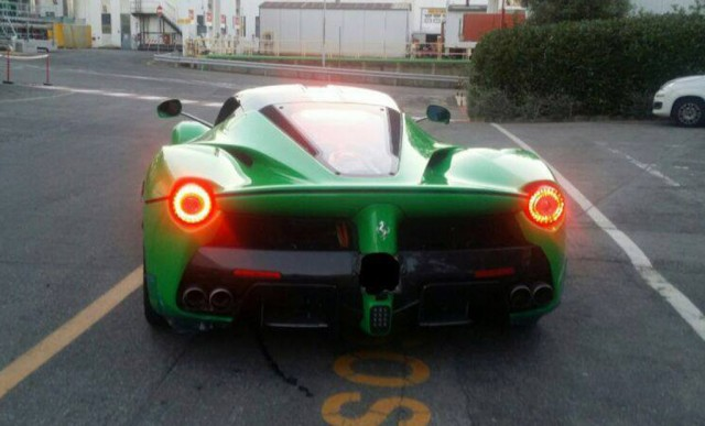 Meet The Green Ferrari LaFerrari Of Jamiroquai's Jay Kay ...