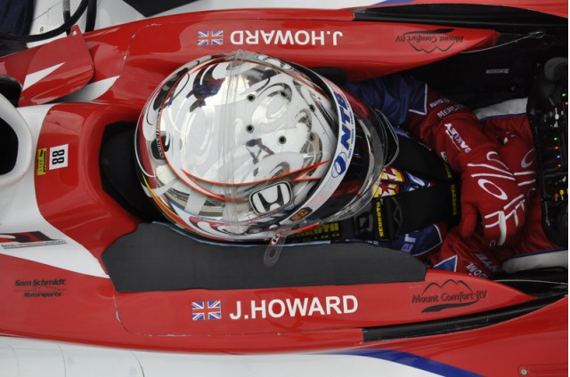 Jay Howard at the 2011 Indianapolis 500 - Anne Proffit photo