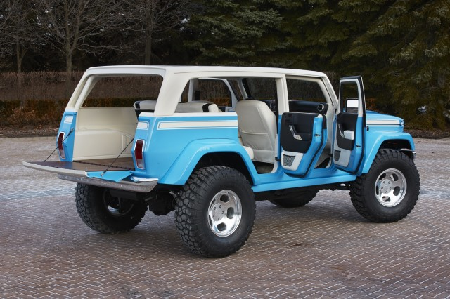 Awesome Jeep Chief Concept Leads Six Others To Moab Easter