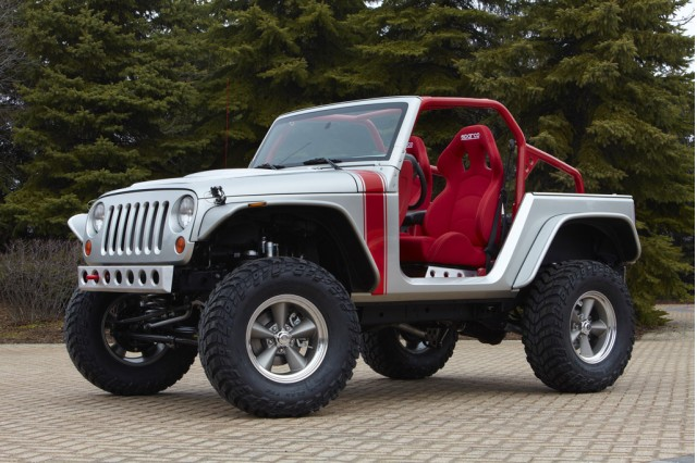 Jeep Wrangler without Doors