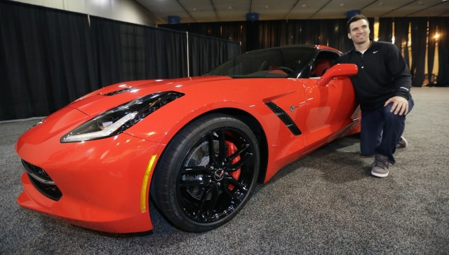 photo of Joe Flacco Chevrolet Corvette Stingray - car