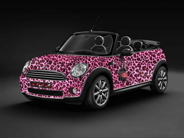 Katy Perry-style Life Ball MINI Convertible 2009 #9932548