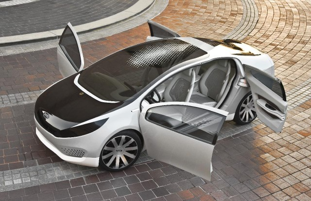 Kia Ray plug-in hybrid concept car