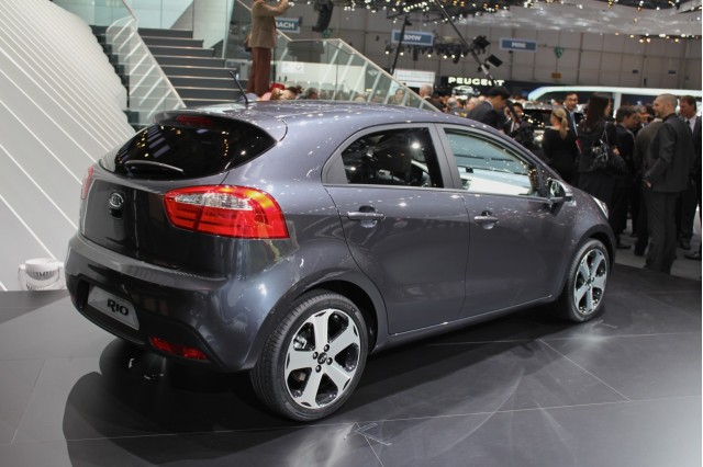 Geneva 2011 2012 Kia Rio falls in line with the rest of its