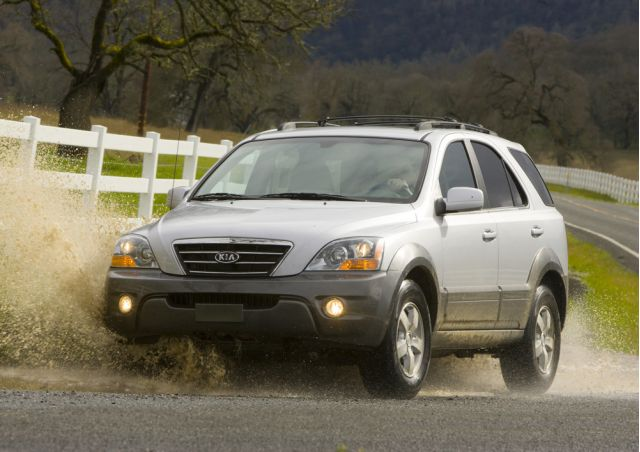 2009 kia sorento review ratings specs prices and. Black Bedroom Furniture Sets. Home Design Ideas