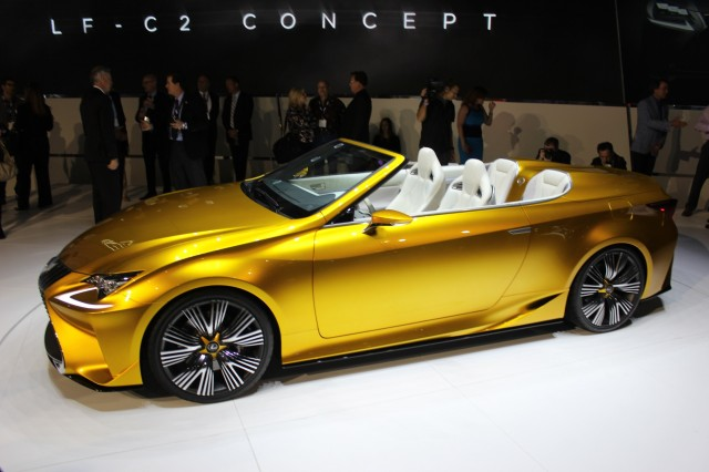 Lexus Cancels RC Convertible, Focuses On New Crossover ...
