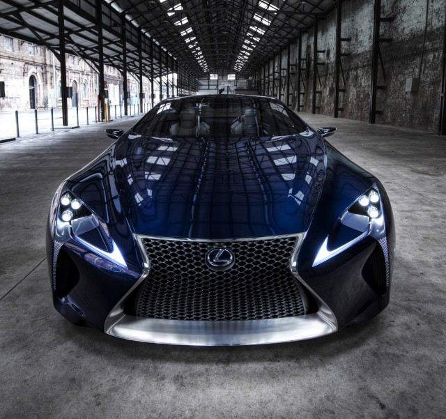 Lexus Lf Lc Sports Car Could Be Made Will It Be A Hybrid: Lexus LF-LC Blue Concept Underwhelms In Australia, Gallery