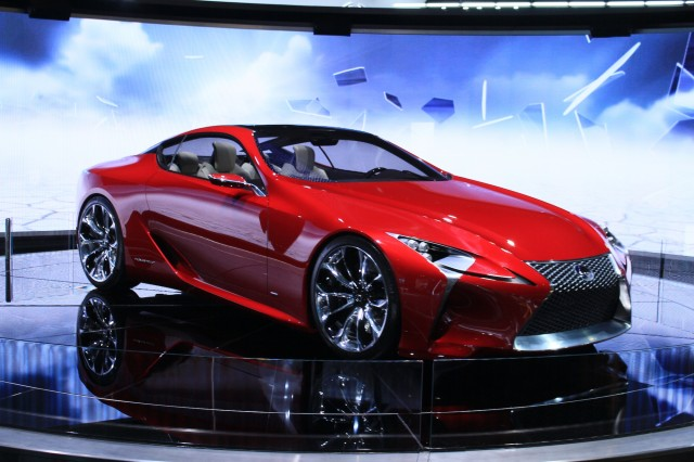 Lexus LF-LC Live On Display At The 2012 Detroit Auto Show