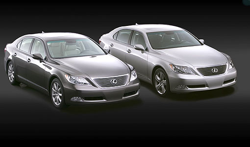 Lexus' new LS 460 and 460L