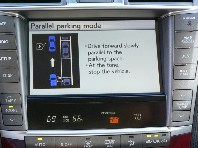 Active Parking Guidance System - in Lexus LS 600h