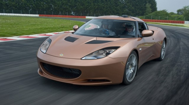 Lotus Evora 414E extended-range electric car prototype