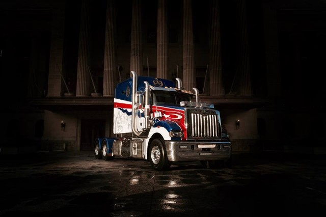 Mack Truck Concept : A sultan commissions the most expensive mack truck ever built