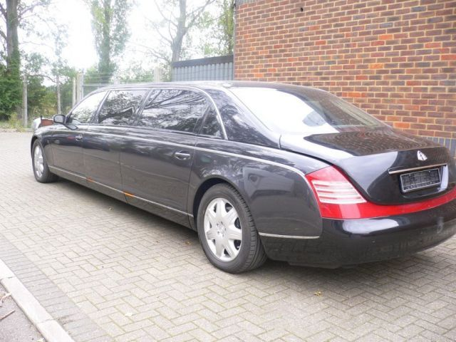 Extended Maybach 62 Becomes Six Seat Maybach 72 Gallery 1