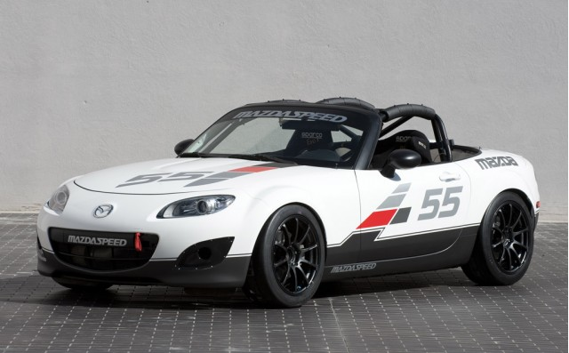 Mazda's race track inspired offerings at 2010 SEMA #8651224